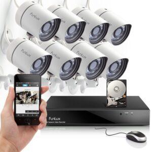CCTV/Live Cameras(8 DVR/8 Camera Package)