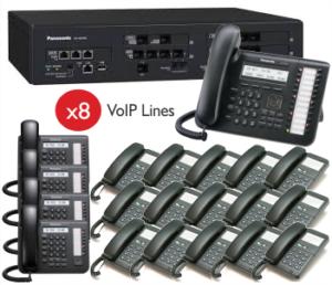 Panasonic KX-NS500 VoiP/Analogue Pabx System